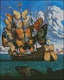 Гоблен - Кораб пеперуда