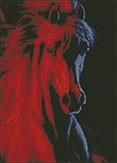 Гоблен - Огнен кон