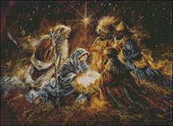 Гоблен - Раждането на Иисус
