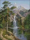 Гоблен - Водопад - малък